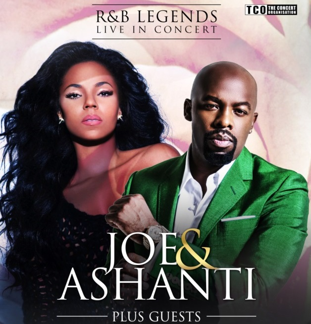 Joe, Ashanti, UK concerts, London, Birmingham, R&B