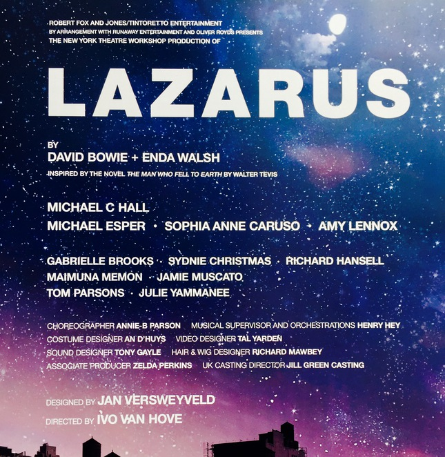 lazarus musical king's cross theatre