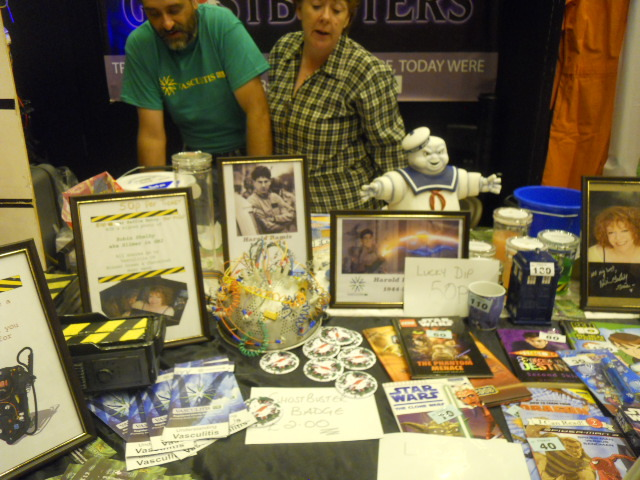 london film and comic convention, the uk ghostbusters