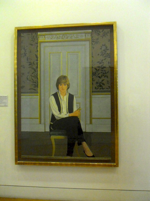 National Portrait Gallery, princess diana