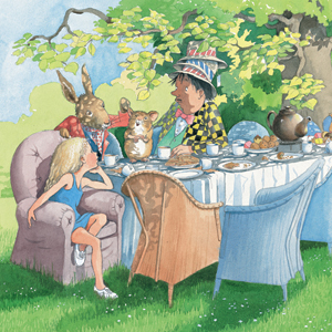Read for RNIB, Blind, alice in wonderland