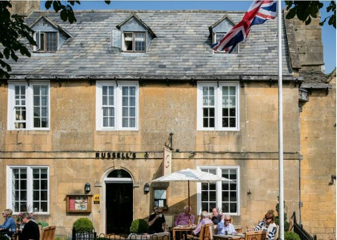 Russells of Broadway, staycation guide to the cotswolds