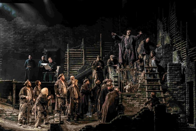 wno, welsh national opera, birmingham hippodrome, autumn season, from the house of the dead, janacek, tour, oxford, birmingham, bristol