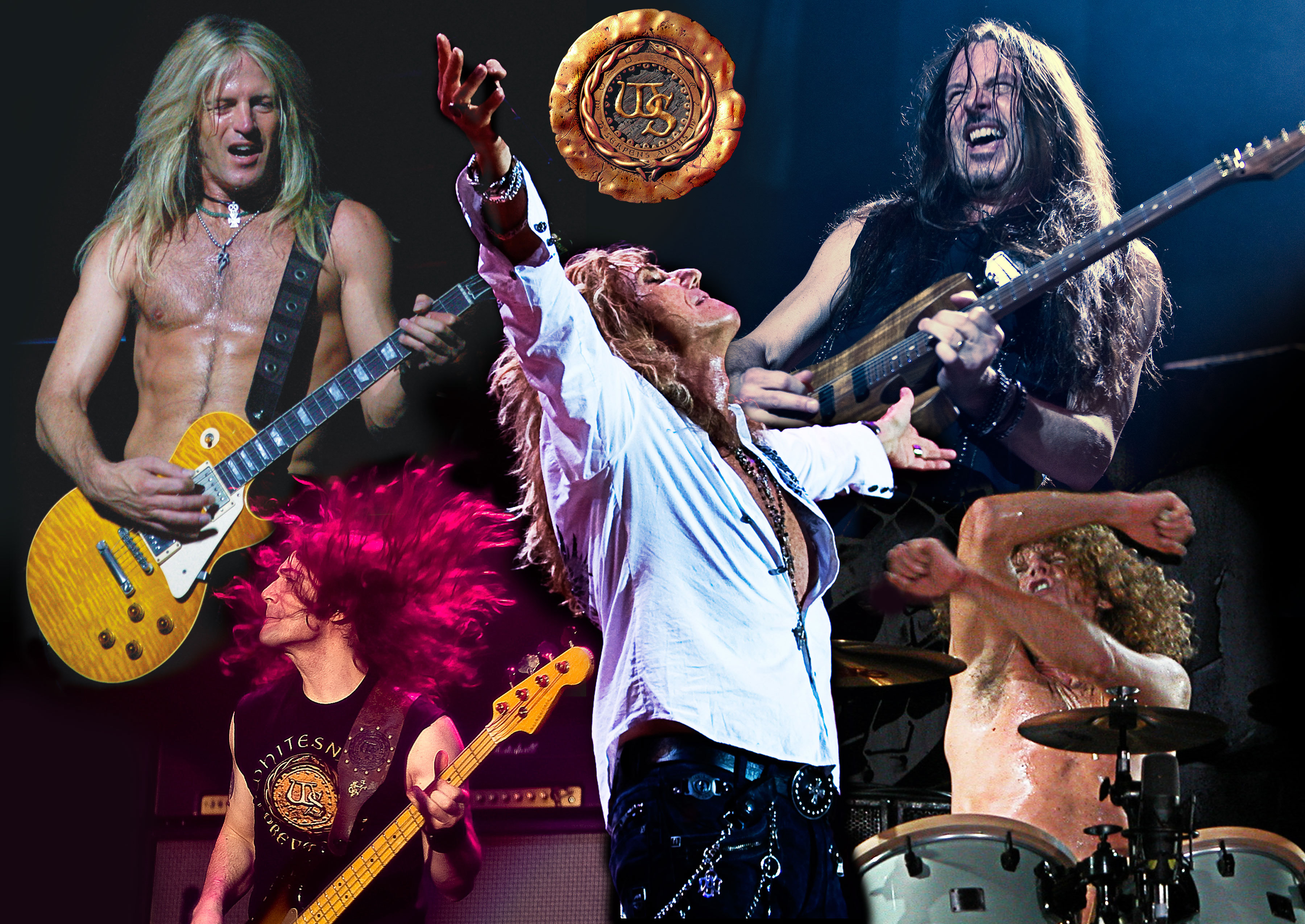 Whitesnake, Journey and Thunder at LG Arena, Birmingham ...