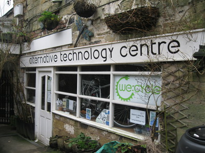 Alternative Technology centre, Canal, Towpath, Hebden Bridge, Yorkshire