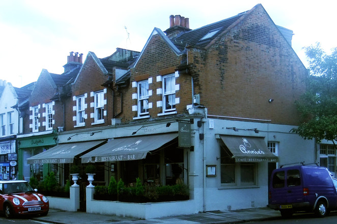 Annie's restaurant, Barnes, Southwest London