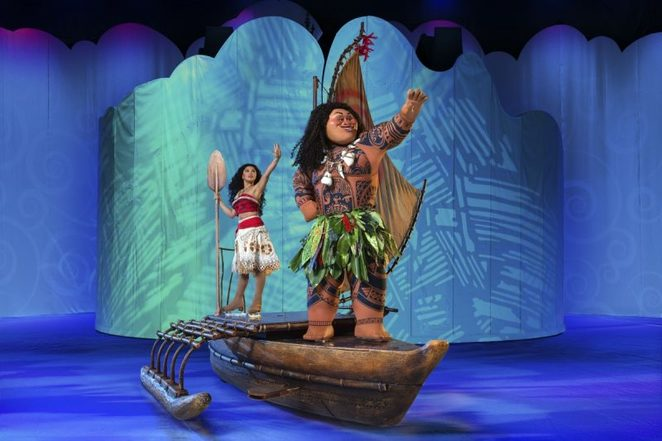 Disney on ice dream big, arena Birmingham, moana