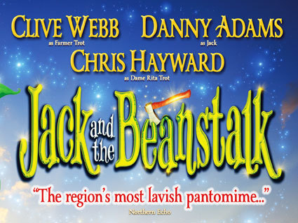 Jack and the Beanstalk at the Theatre Royal promo
