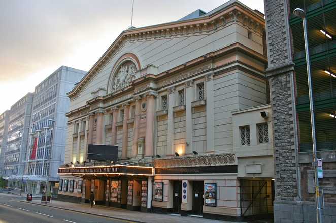 Manchester opera house, theatre, simon and garfunkel, music, duo, songs,