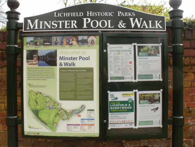 Minster Pool and Walk, Lichfield