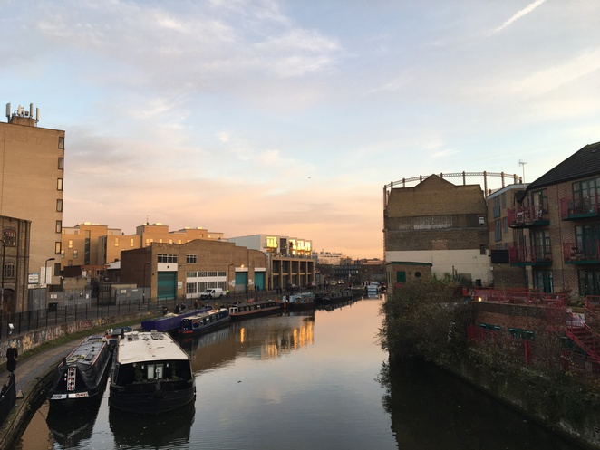 Regent's Canal, Sunset, River, London