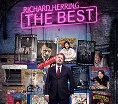 Richard Herring, Old Rep Theatre, Birmingham comedy in 2017