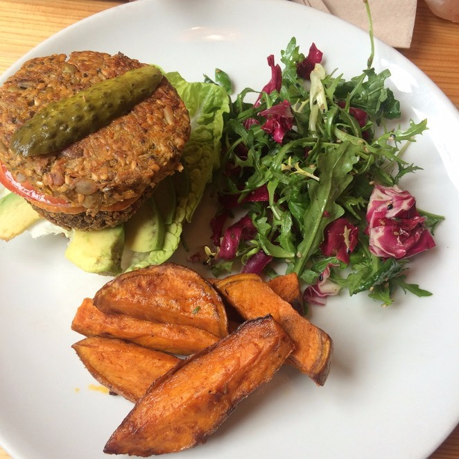 Wild Food Cafe, lunch, raw, vegan