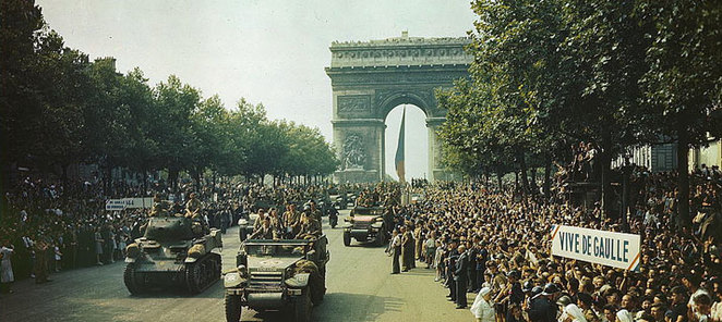 liberation of france, 70th anniversary of liberation, institut francais
