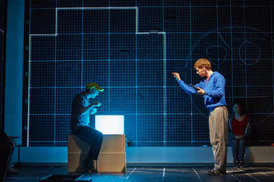 piccadilly theatre, the curious incident of the dog in the night