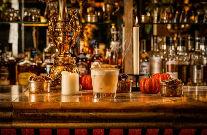 The Ivy, Halloween autumn menu and drinks Birmingham