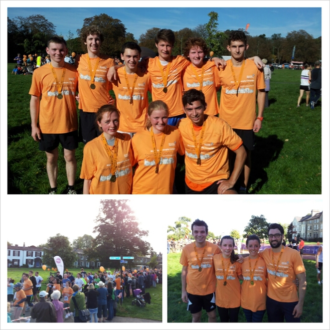 Town and gown, cambridge, muscular dystrophy, team orange