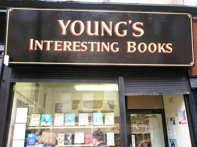 Young's Interesting Books Shawlands Glasgow