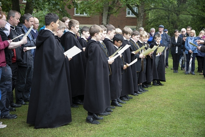 Beacon Park, Lichfield Cathedral Choir