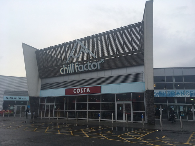 Chill Factore snowboarding skiing manchester