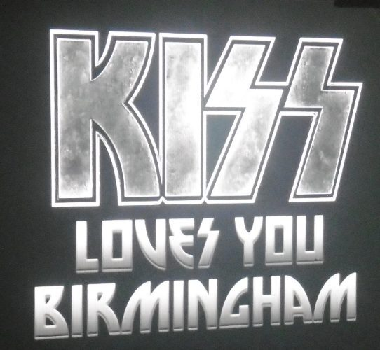 Kiss, Paul Stanley, Gene Simmons, Eric Singer, Tommy Thayer, Arena Birmingham, End of the Road World Tour