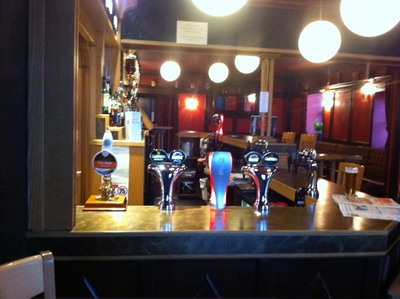 The Stag, Bar, Beer Pumps, Draught beer, Forfar, Angus