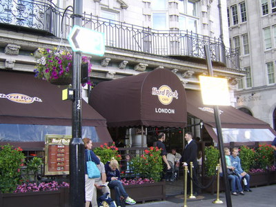 The Hard Rock Cafe, London