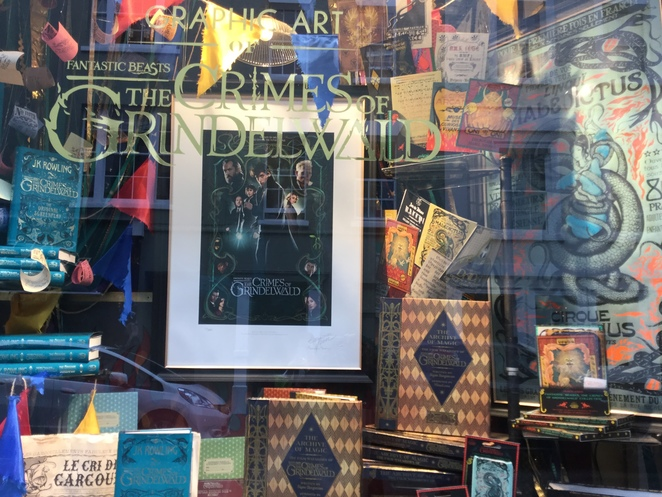 House of MinaLima, Fantastic beasts, crimes of Grindelwald,where to find them, harry potter, graphic design, gallery