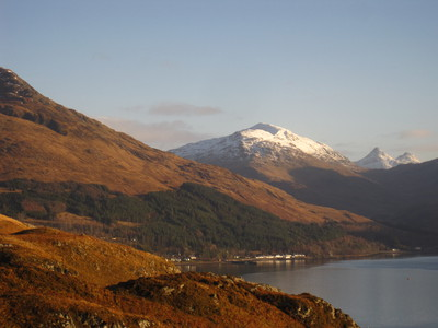 The village of Inverie, from above Galschoille, Knoydart Peninsula, Scotland (c) JP Mundy 2012