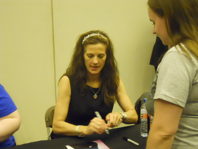 london film and comic convention, game of thrones, terry farrell