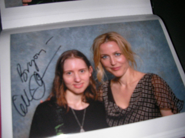 london film & comic convention, lfcc, gillian anderson