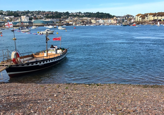 shaldon,ferry,teign river,devon,england,teignmouth,historic