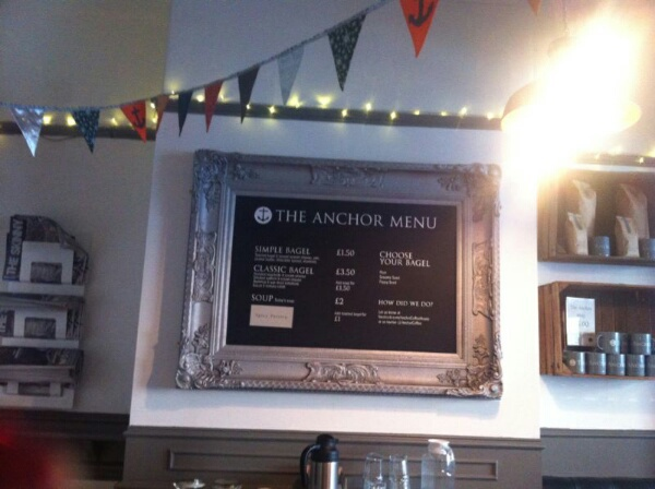The Anchor, Cafe, coffee, tea,