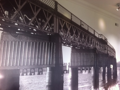 wall art, river tay, tay bridge, bridgeview station restaurant, cafe, dundee