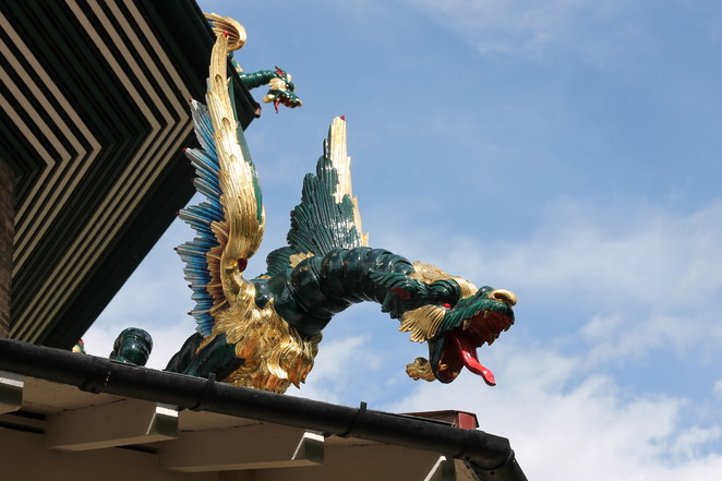 Dragon on the Great Pagoda