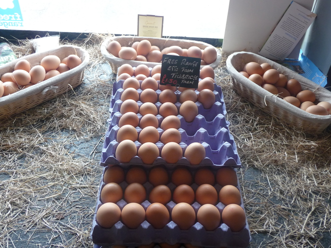 eggs, farm fresh, harborne village butchers,