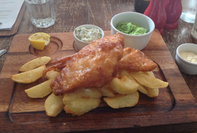 Fish and chips, The Vintage