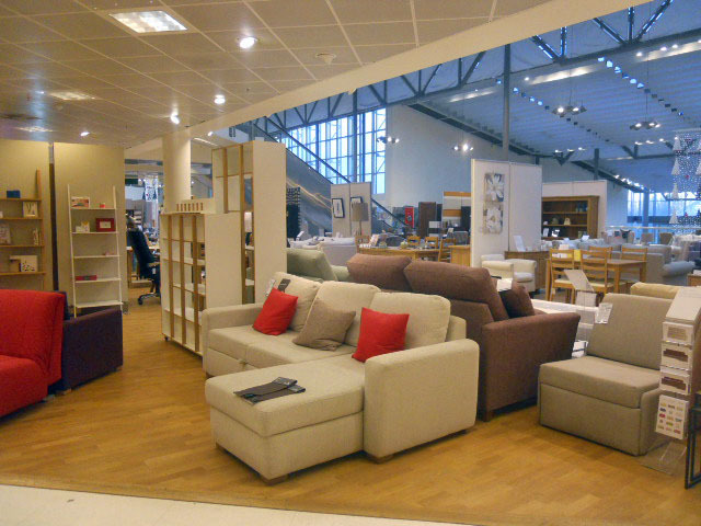 Christmas shopping at john lewis department store london for John lewis chinese furniture