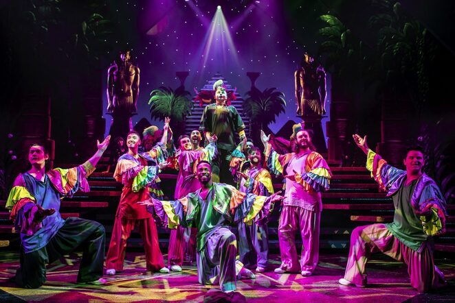 Joseph and the amazing technicolour dreamcoat, Birmingham Hippodrome, UK tour, jaymi Hensley