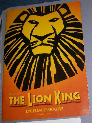 lion King, Musical, lyceum,