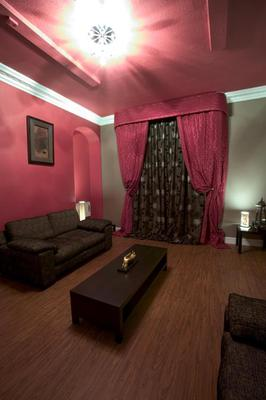 The relaxation room at Solace Spa