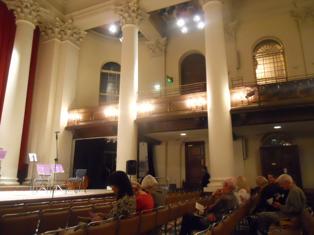 st john's smith square, concert hall, balconies