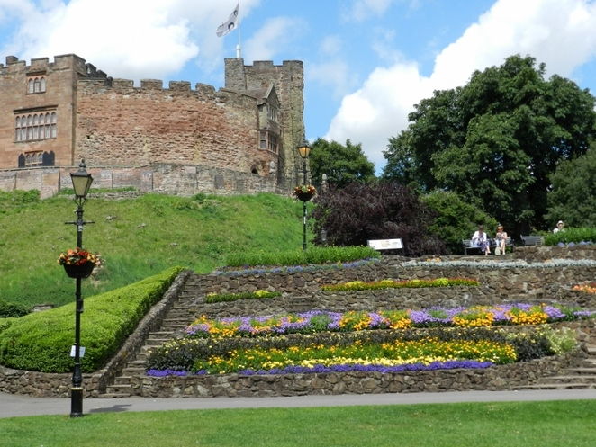 Tamworth in Bloom, Tamworth Castle