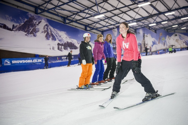 Tamworth SnowDome, indoor ski slope, skiing, snowboarding