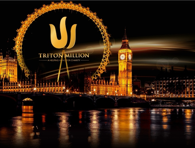 Triton poker series, London hilton
