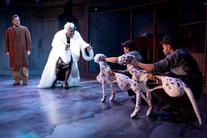 101 dalmations at birmingham rep