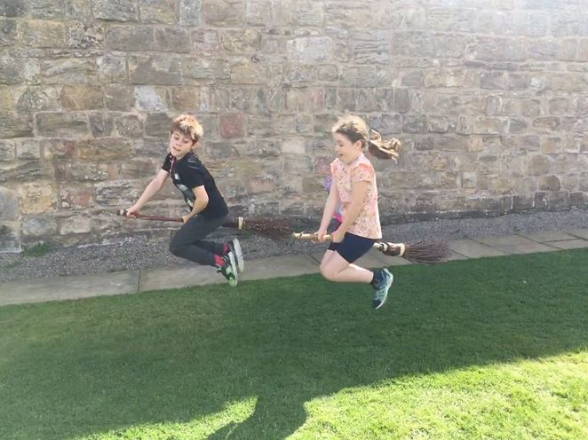 Alnwick Castle, Harry Potter, Northumberland, Downton Abbey, castle, knights, broomstick, broomstick training