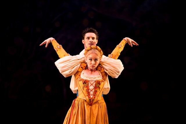 Birmingham Royal Ballet Shakespeare Season, Taming Of the Shrew, Iain Mackay and Elisha Willis, BRB, Birmingham Hippodrome