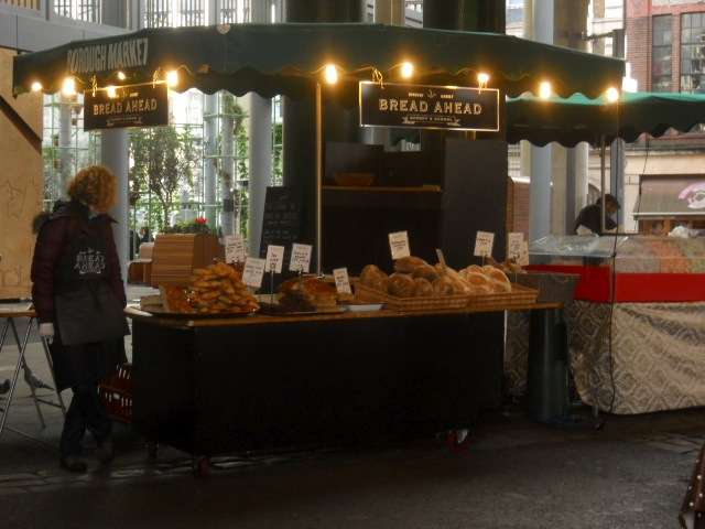 borough market, Comptoir Gourmand, bread ahead