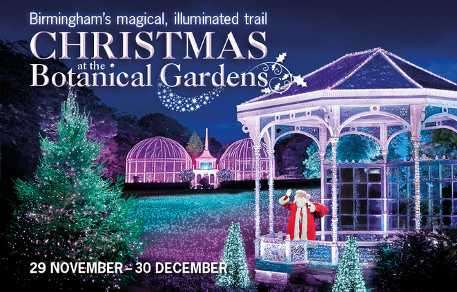 Botanical gardens , Christmas , Birmingham, illuminations